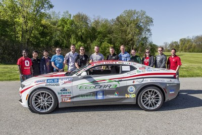 The Ohio State University named EcoCAR 3 Year Three champion.