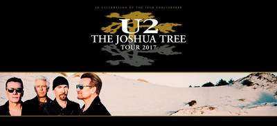 U2 The Joshua Tree Tour 2017 Biggest Tour Of The Year Surpasses 2.4 Million Tickets Sold