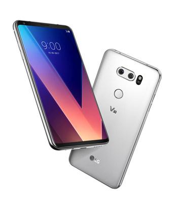 CNW   LG V30 Smartphone Arrives in Canada October 20