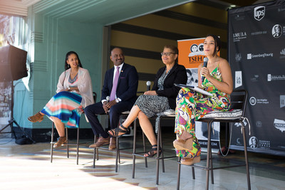 TSEHAI Publishers and Loyola Marymount University launched Harriet Tubman Press with a high-profile celebration at the Vision Theatre on Oct. 15, in the Leimert Park neighborhood of Los Angeles.
