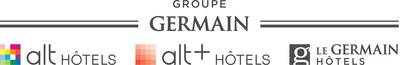Logo: Groupe Germain Hotels (CNW Group/Groupe Germain)