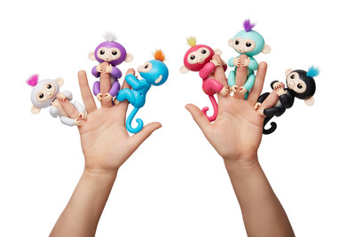 2018 Toy and Collectible of the Year multiple award-winner Fingerlings(R) by WowWee.