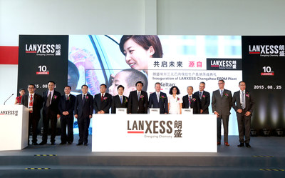 From its base at Changzhou National Hi-Tech District, LANXESS continues to benefit from China's ongoing economic development