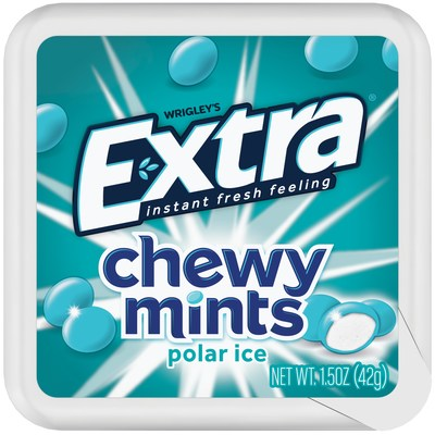 New Extra Chewy Mints Deliver an Instant Fresh Feeling