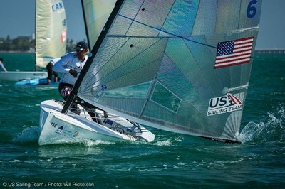 Pictured: Rio 2016 Olympic sailing bronze medalist and Bay Area resident Caleb Paine (Richmond, Calif.) will make use of the FAST USA facility along with the rest of the US Sailing Team and local sailors of all levels of experience. Photo: US Sailing