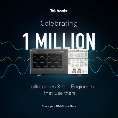 With the sale of our millionth scope based on the TDS200 platform, we're celebrating the millions of engineers using Tek scopes and the amazing things they're doing.