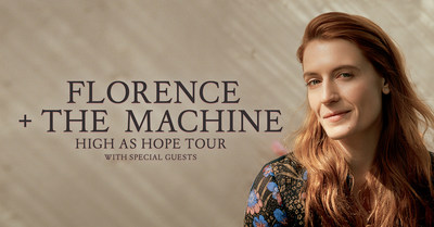 Florence + The Machine Confirm North American Leg Of Global Tour
