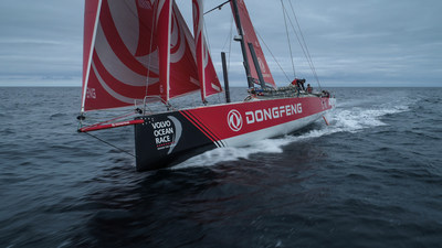 Dongfeng Race Team goes all out to make the final dash