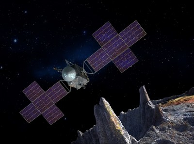 SSL to provide critical flight system component for NASA Psyche Mission (courtesy of ASU/JPL/SSL/Peter Rubin) (CNW Group/Maxar Technologies Ltd.)