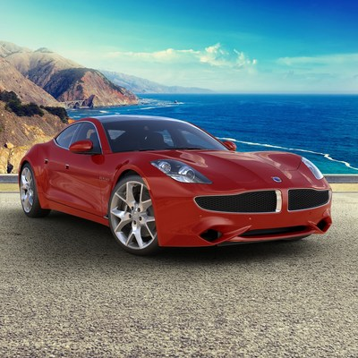 Axalta today announced it is teaming with Karma Automotive to display their Axalta-painted Revero in Axalta's exhibit space #22391 during the 2018 SEMA Show.  Photo: Karma Automotive