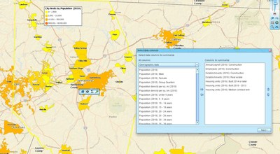Map Business Online Includes a Comprehensive Liry of Census ... on