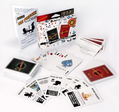 Oh Fruck! Is an Original Twist on Classic Card Games. Just in Time for Holiday Gift-Giving