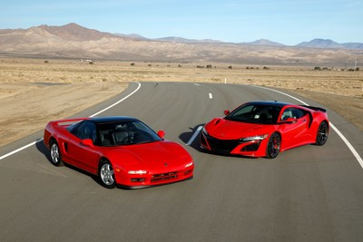 Acura celebrates the 30th anniversary of the NSX debut in Chicago.