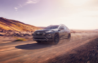 The 2020 RAV4 TRD Off-Road model is the newest addition to the RAV4 family.