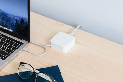 Innergie 65W USB-C Adapter- USB PD with the built-in USB-C charging cable to giving powerful performance