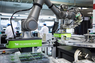 The most intelligent collaborative industrial robot in the world – Techman Robot with built-in visual system and innovative user interface