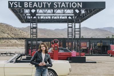 YSL Beauty Station: Un viaje musical por carretera de la mano de Kaia Gerber y Tom Pecheux #yslbeautystation