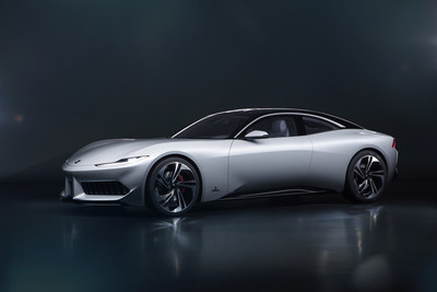 The Karma Pininfarina GT coupe is the first result of a partnership with Pininfarina, the iconic Italian design and engineering house. The Pininfarina team took a new 2020 Revero GT, retained the fundamental engineering parameters and then crafted a new body style, offering an alternative design interpretation.