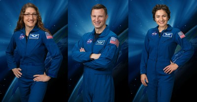 NASA and its International Space Station partners announced April 17, 2019, a new schedule and new crew assignments that will include a record-setting flight for NASA astronaut Christina Koch, an extended stay on station for NASA astronaut Andrew Morgan, and the first flight of NASA astronaut Jessica Meir.