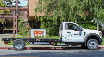 Dana Incorporated and Motiv Power Systems have announced a collaboration to integrate Dana's Spicer® ElectrifiedTM eS9000r e-Axle on the Ford F-550 chassis for use in commercial fleet applications.