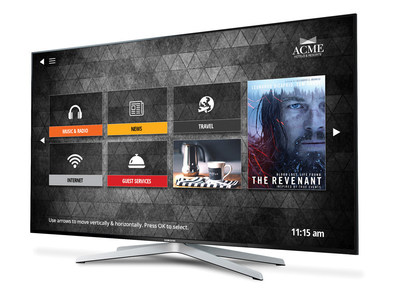 Allbridge Entertainment powered by MCOMS redefines IPTV delivering an interactive TV solution with features for guests to enhance their stay including over-the-top (OTT) streaming services, property information and e-Concierge services.