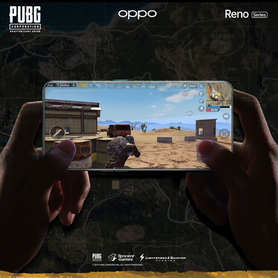 PUBG gaming experience on OPPO Reno smartphone