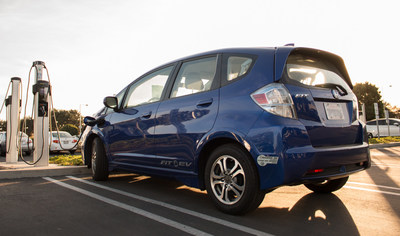 Honda will provide used Fit EV batteries to America Electric Power, which will study integrating the batteries into the utility's electricity grid.