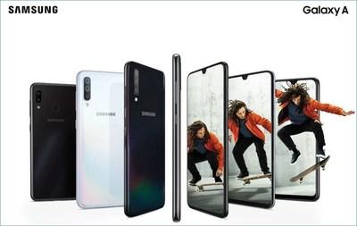 Samsung Canada Announces New Galaxy A Series Canadian Availability (CNW Group/Samsung Electronics Canada)