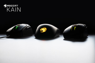 Turtle Beach and ROCCAT reveal a teaser image of the all-new ROCCAT Kain PC mouse.