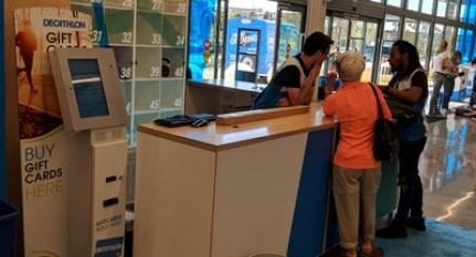 Cash To Card Kiosk