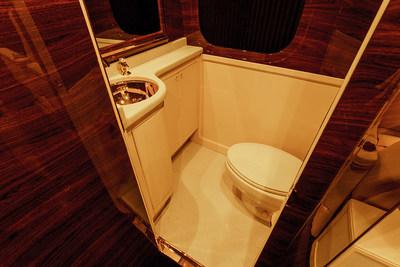 G:77 Sky Master restroom by Lexani Motorcars