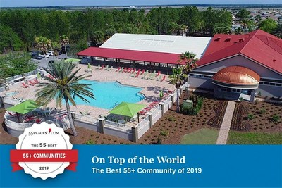 On Top of the World is 55places' Best 55+ Active Adult Community of 2019.