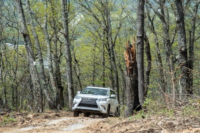 Lexus Off-Road Adventure at the Relais & Châteaux-designated resort