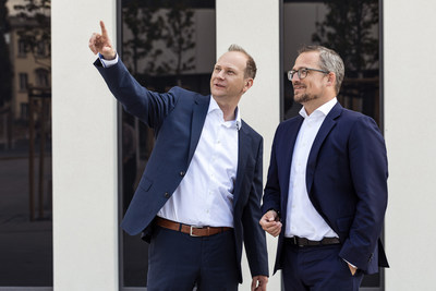 Chancellor and Dean of HHL Leipzig Graduate School of Management, Marcus Kölling and Stephan Stubner. Photo: Iona Dutz