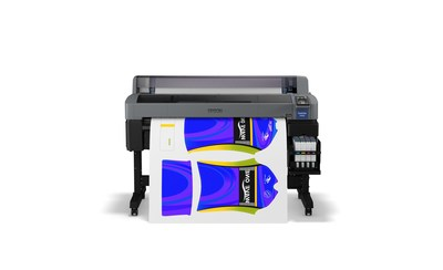 Designed with ease-of-use in mind, the new SureColor F6370 44-inch dye-sublimation printer quickly and efficiently produces high-quality images for promotional products, soft signage, cut-and-sew fabrics, and more.