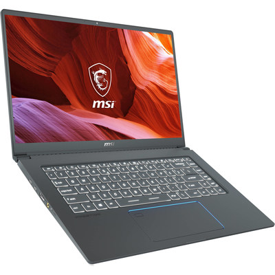"""The MSI 15.6"""" Prestige 15 Laptop is a thin and light system designed for on-the-go content creators."""