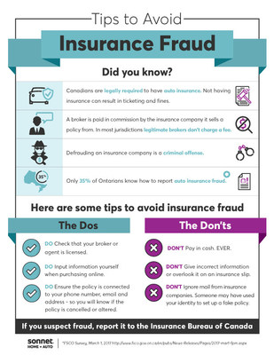 How to avoid insurance fraud: Sonnet Insurance reveals top seller scams and what Canadians need to know to stay safe (CNW Group/Sonnet Insurance Company)