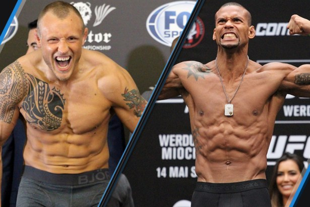 Image result for Thiago Santos vs. Jack Hermansson
