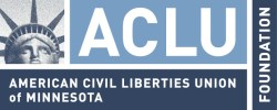 Logo for the ACLU of Minnesota