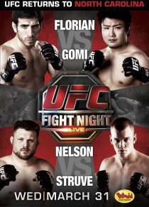 UFC Fight Night 21 Poster
