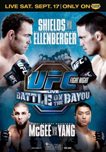 UFC Fight Night 25 poster