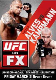 Pôster do UFC On FX 2