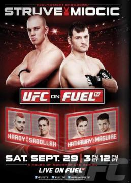 Pôster do UFC On FUEL TV 5