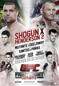 UFC Fight Night Shogun vs Henderson 2 Poster