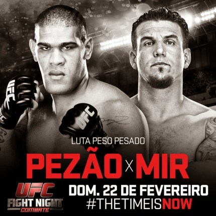 Pôster do UFC Fight Night 61