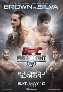 UFC-Fight-Night-Brown-vs-Silva-poster