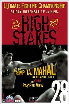 UFC28-High-Stakes-Poster