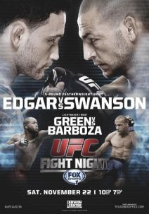 UFC-Fight-Night-57-Edgar-Swanson-poster