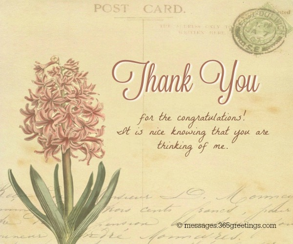 #25 thank you so much for being there when we needed you. Thank you message for promotion wishes