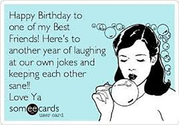 Happy Birthday Wishes For Friends Funny